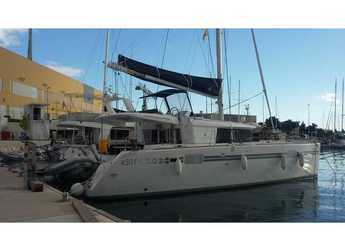 Rent a catamaran in ACI Marina Dubrovnik - Lagoon 450 Fly