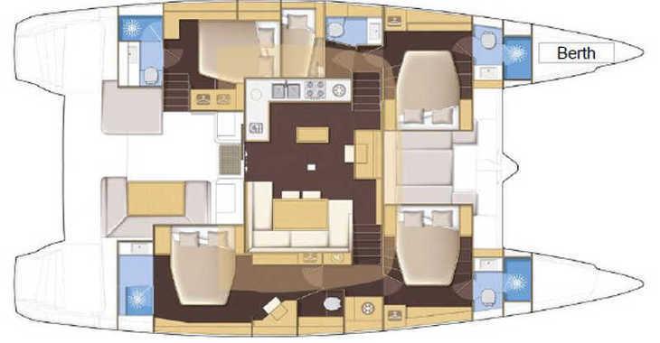 Alquilar catamarán Lagoon 52 FLY en Trogir (ACI marina), Trogir