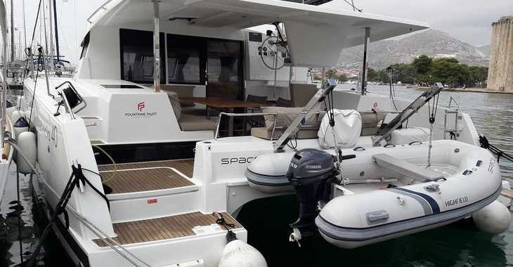 Alquilar catamarán Lucia 40 Maestro 3 en Trogir (ACI marina), Trogir
