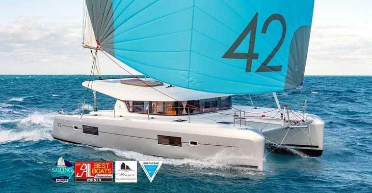 Alquilar catamarán Lagoon 42 en Trogir (ACI marina), Trogir