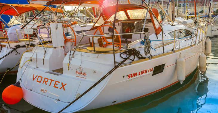 Rent a sailboat in Split (ACI Marina) - Elan 444 Impression