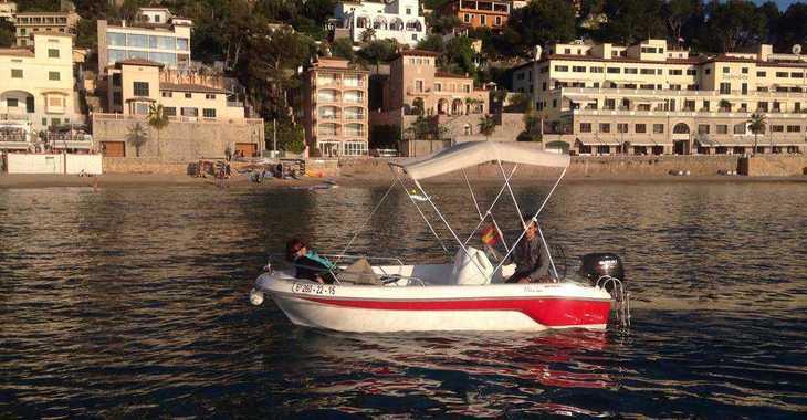 Alquilar barco a motor 400 Fiber en Port de Soller, Soller