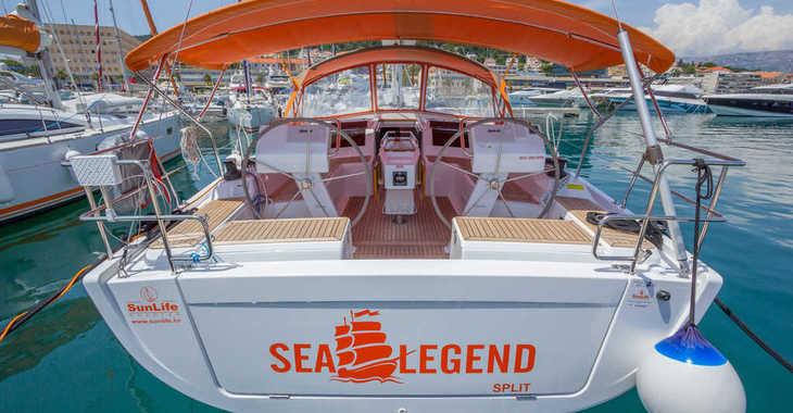 Alquilar velero en ACI Marina Split - Hanse 455