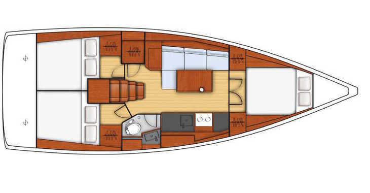 Alquilar velero Oceanis 38.1 en ACI Marina Split, Split city