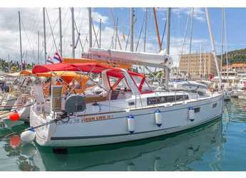Rent a sailboat in Split (ACI Marina) - Oceanis 38.1