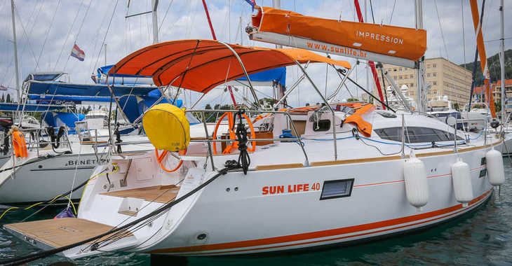 Alquilar velero en ACI Marina Split - Elan 40 Impression