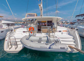 Rent a catamaran in Split (ACI Marina) - Lagoon 400