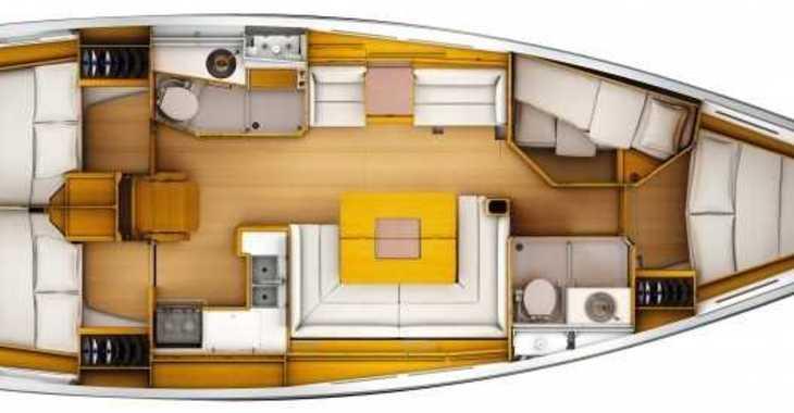 Rent a sailboat in Marina Sukosan (D-Marin Dalmacija) - Sun Odyssey 449
