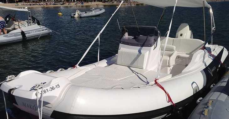 Alquilar barco a motor Zar Makó 68 en Puerto de Pollença, Pollensa