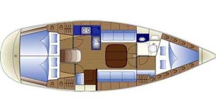 Rent a sailboat in Marina Zadar - Bavaria 36 Holiday