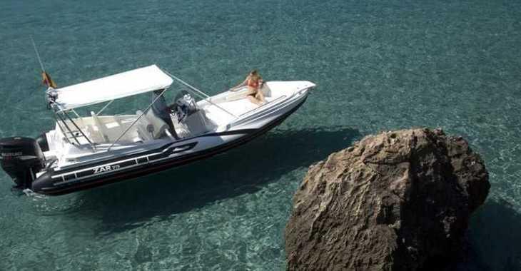 Alquilar barco a motor Zar 75 Suite en Puerto de Pollença, Pollensa