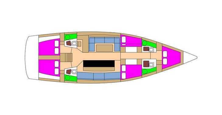 Alquilar velero en Marina Kornati - D&D Kufner 54.2