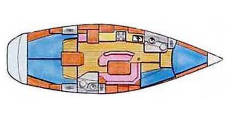Alquilar velero Sun Odyssey 42.2 en Krvavica, Split