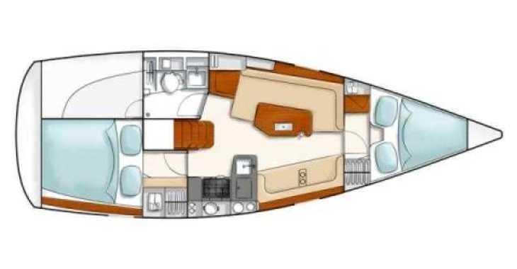 Rent a sailboat in Marina Kornati - Hanse 320