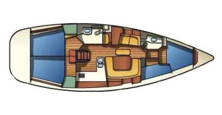 Alquilar velero Sun Odyssey 43  en Marina Kornati, Kornati-Biograd