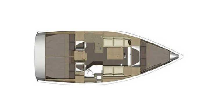 Rent a sailboat in Marina Mandalina - Dufour 350 Grand Large