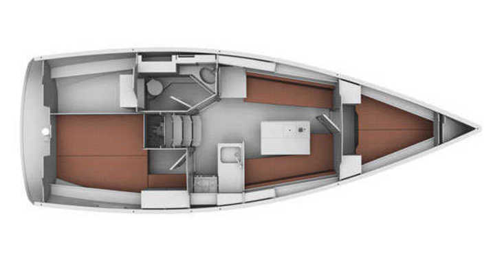 Rent a sailboat in Marina Kornati - Bavaria 32 Cruiser