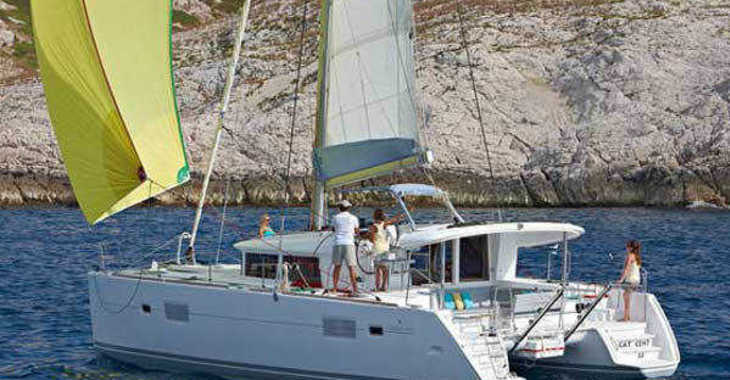 Alquilar catamarán Lagoon 400 en Marina Baotić, Seget Donji
