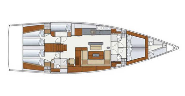 Alquilar velero Hanse 575 en SCT Marina Trogir, Trogir