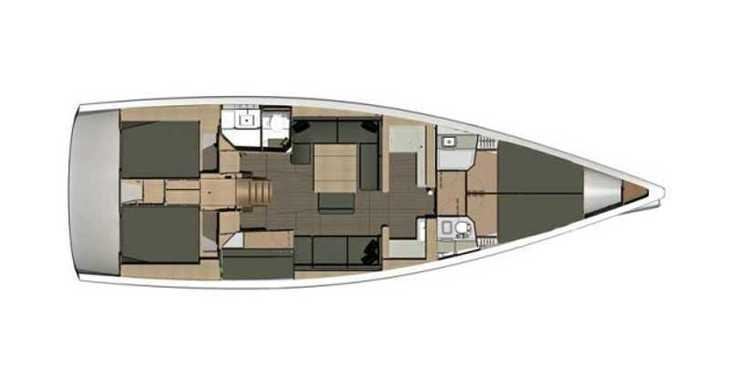 Rent a sailboat in SCT Marina Trogir - Dufour 512 Grand Large