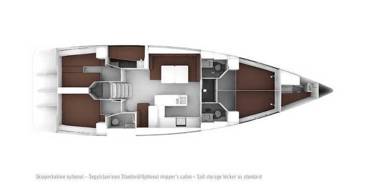 Alquilar velero en Marina Kornati - Bavaria Cruiser 56
