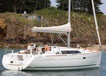 Chartern Sie segelboot in Marina Mandalina - Oceanis 34