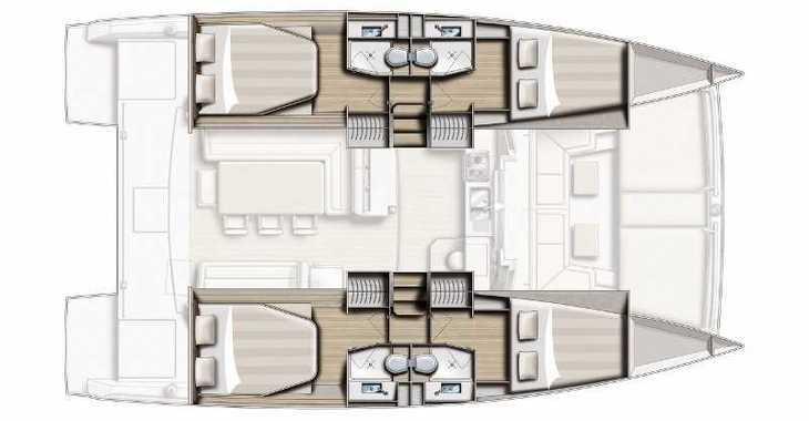 Alquilar catamarán Bali 4.0 en Marina Kornati, Kornati-Biograd