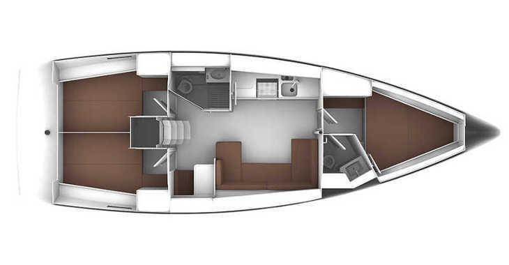 Alquilar velero Bavaria Cruiser 41 en Marina Baotić, Seget Donji