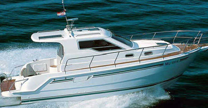 Alquilar barco a motor Vektor 950 en Marina Kornati, Kornati-Biograd
