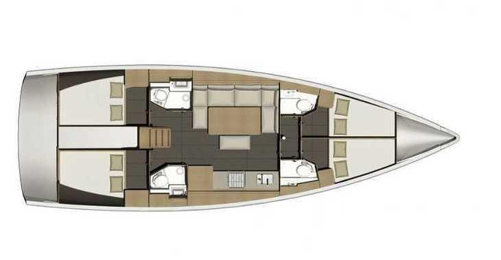 Alquilar velero Dufour 460 Grand Large * en SCT Marina Trogir, Trogir
