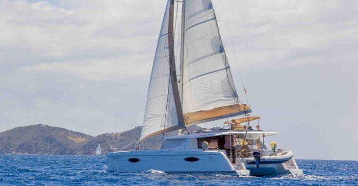 Alquilar catamarán Fountaine Pajot Helia 44  en Nanny Cay, Tortola