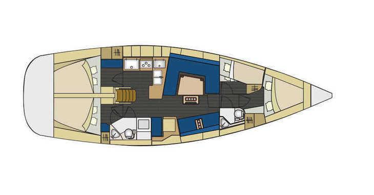Alquilar velero Elan 444 Impression en SCT Marina Trogir, Trogir