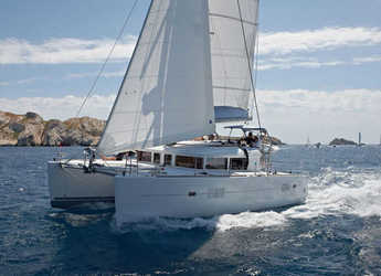 Rent a catamaran in SCT Marina Trogir - Lagoon 400