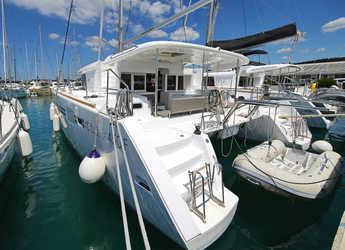 Chartern Sie katamaran in Marina Sukosan (D-Marin Dalmacija) - Lagoon 450 F