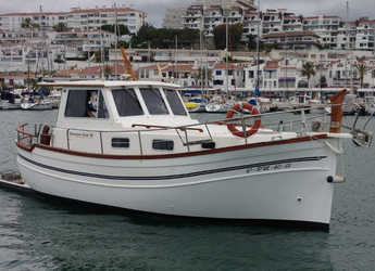 Rent a motorboat in Port d'Aiguadolç - Menorquina Yacht 100