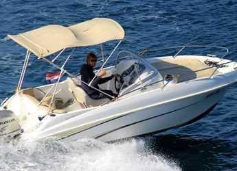 Rent a motorboat in Trogir (ACI marina) - Beneteau Flyer 550 SD